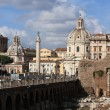 Cityscape of italian capital Rome — Stock Photo