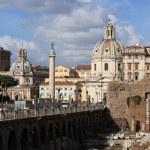 Cityscape of italian capital Rome — Stock Photo