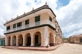 A view of one of thebuildings in Trinidad, cuba — Stock Photo