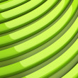 Many green lines — Stock Photo