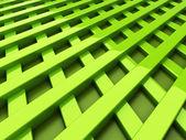 Green bars — Zdjęcie stockowe