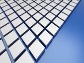 Beyaz Metalik arka plan — Stok fotoğraf