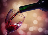 červené víno — Stock fotografie