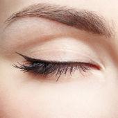 Göz bölgesi makyajı — Stok fotoğraf