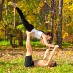 Tantra yoga — Stock Photo
