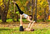 Yoga tantra — Fotografia Stock