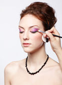 Ombretto make-up — Foto Stock