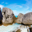 Boulders and ocean — Stock Photo