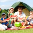 Family picnic - Foto de Stock  