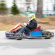 Karting race — Stock Photo #8694175