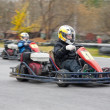 Karting race — Stock Photo