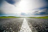 Rychlostní silnice — Stock fotografie