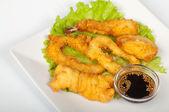 Geassorteerde tempura — Stockfoto