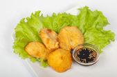 Vegetable tempura — Stock Photo