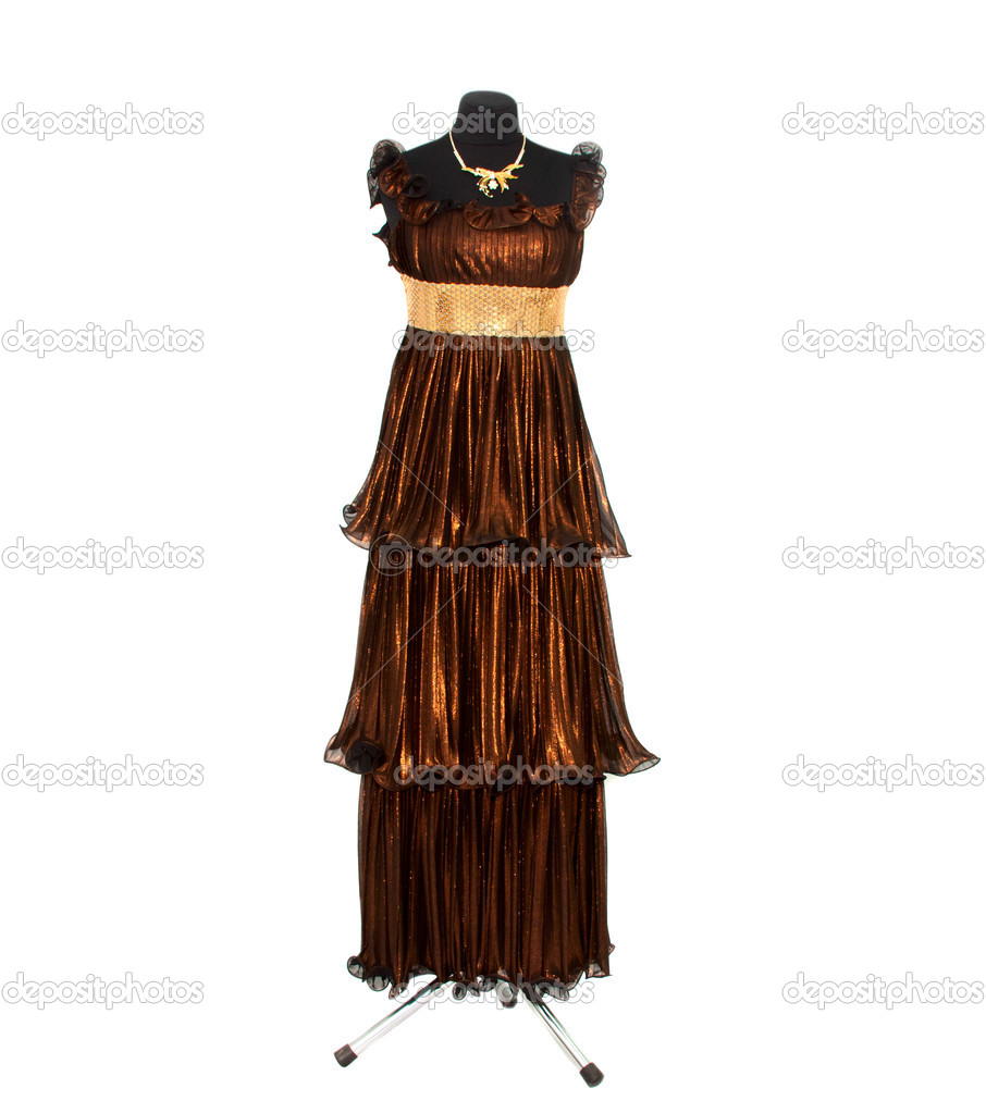 Dress isolated on a mannequin — Stock Photo #10267944