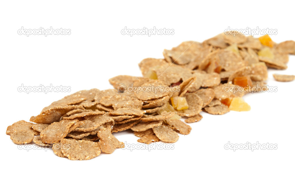 Cereal isolated on white background — Stock Photo #8259180