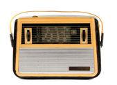 Gammal radio isolerade — Stockfoto