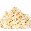 Popcorn isolated - Stock Photo