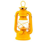 Kerosene lamp isolated — Stock Photo