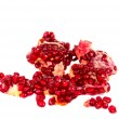 Pomegranate seeds isolated - Stockfoto