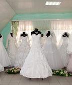 De trouwjurk — Stockfoto