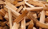 Chopped firewood — Stock Photo