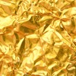 Gold foil background — Stock Photo