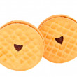 Cream cookies — Stock Photo #9910808