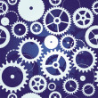 Seamless pattern with cogs and gears — Stock Vector #10535232