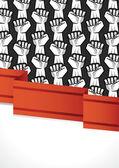 Revolution poster — Stock Vector