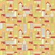 Royalty-Free Stock Vector Image: Seamless city pattern