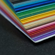 Stack of colored paper — Stock Photo #10694821