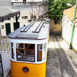 Funicular in Lisbon — Stockfoto
