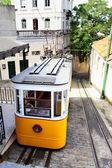 Funicular in Lisbon — 图库照片