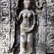 Carving in Angkor Wat — Stock Photo
