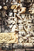 Khmer stone carving — ストック写真