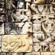 Khmer stone carving - Stockfoto