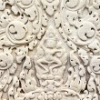 Khmer stone carving — Stock Photo