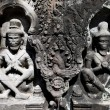 Stock Photo: Khmer stone carving