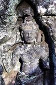 Khmer stone carving — Stock Photo