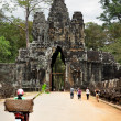 Stock Photo: Entrance to Bayon