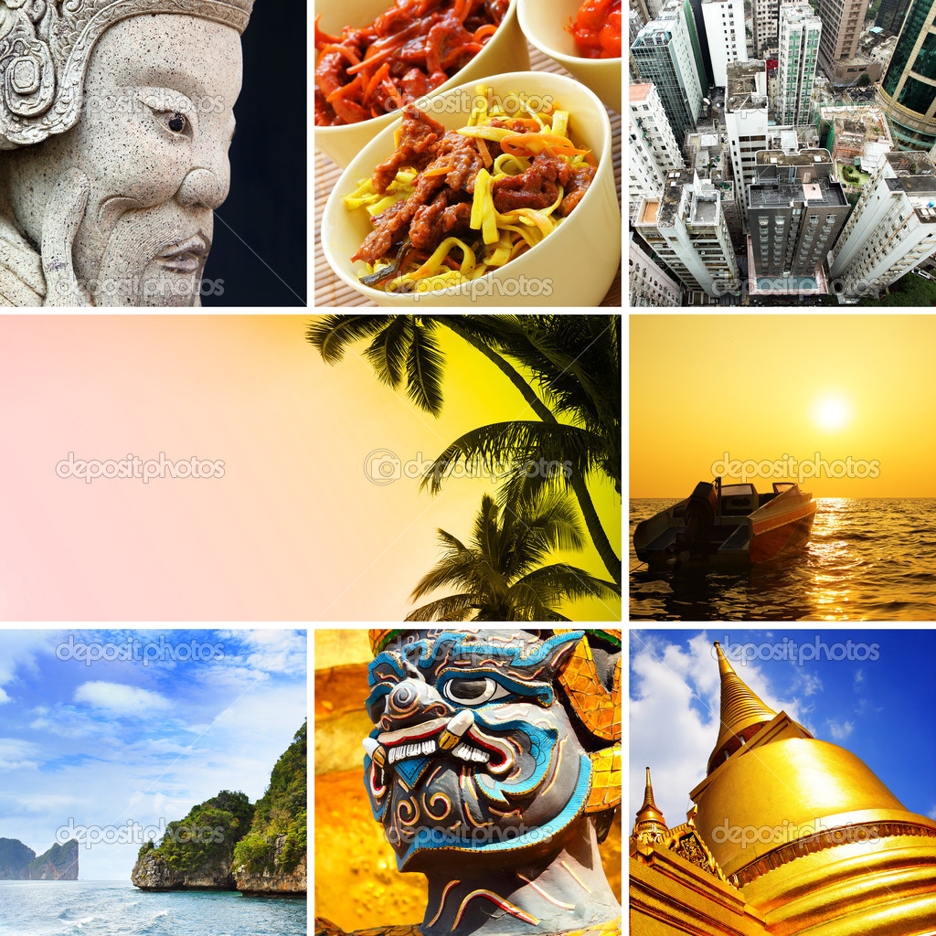 Asia - Set of shots from South-East Asia — Stock Photo #8684437