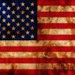 Grunge USA flag — Stock Photo #8857212