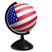 Globe USA — Stock Photo