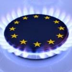 Gas EU — Stock Photo