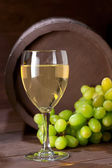 Wineglass of vine — Stock Photo