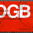 GERMANY- 1999: shows German Federation of Trade Unions (DGB) — Stock Photo