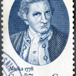 US- 1978: shows Captain James Cook, by Nathaniel Dance — Stock Photo #10498105