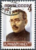 USSR - 1962: shows A.S.Makharenko (1888-1939), writer — Stock fotografie