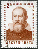 HUNGARY - 1964: shows Galileo Galilei (1564-1642) — Stock Photo